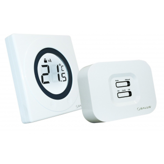 Termostat ambiental neprogramabil wireless cu inel tactil SALUS ST320 RF