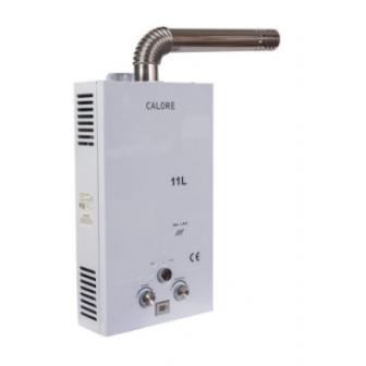Instant pe GPL sau gaz pentru apa calda Calore TF11 cu tiraj fortat, GRATUIT set duze GPL si GN