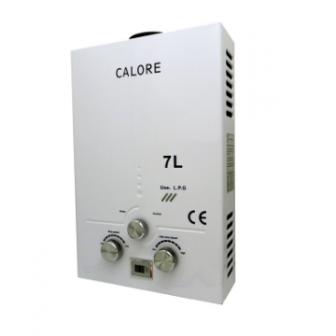 Instant pe GPL sau gaz pentru apa calda Calore TN7, GRATUIT set duze GPL si GN