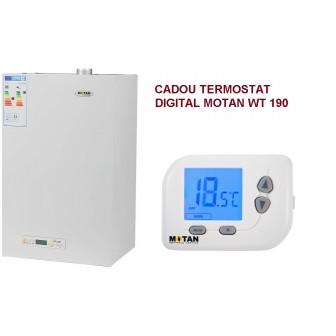 Centrala termica MOTAN T.F. 23 Kw KPLUS ERP , ACM instant, tiraj fortat + CADOU Termostat digital neprogramabil + KIT EVACUARE