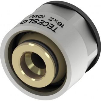 """Eurocon TECEfloor SLQ nichelat pt. teava tip SLQ PE-RT/PE- Xc, Ø17mm x 3/4"""" FI"""